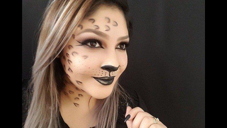 Maquillaje LEOPARDO 3