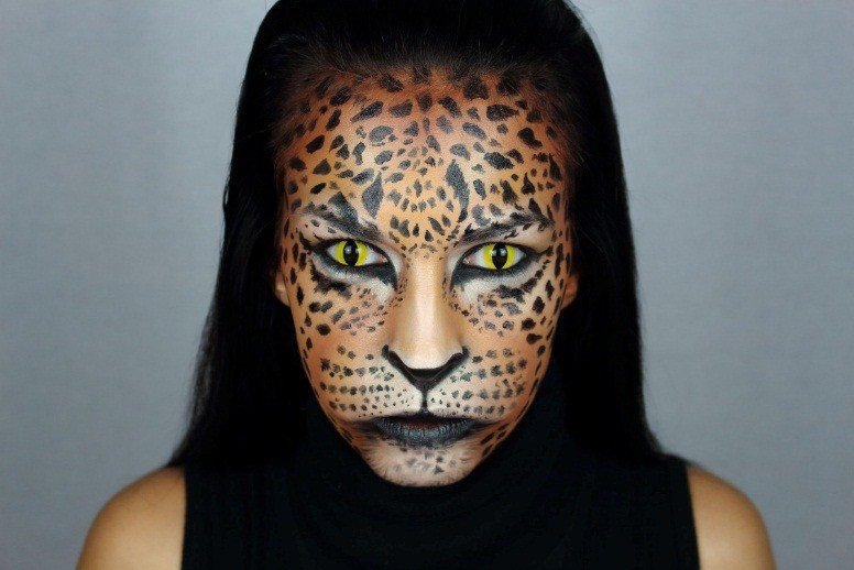 Maquillaje LEOPARDO 6