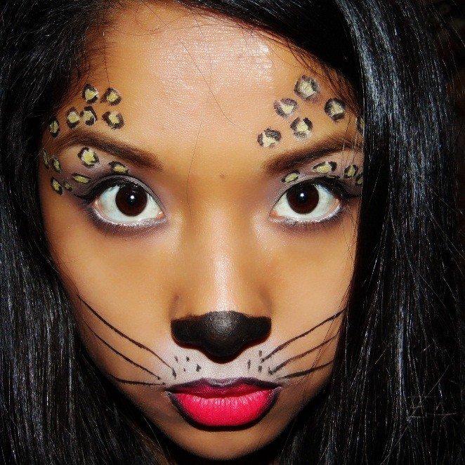 Maquillaje LEOPARDO 9