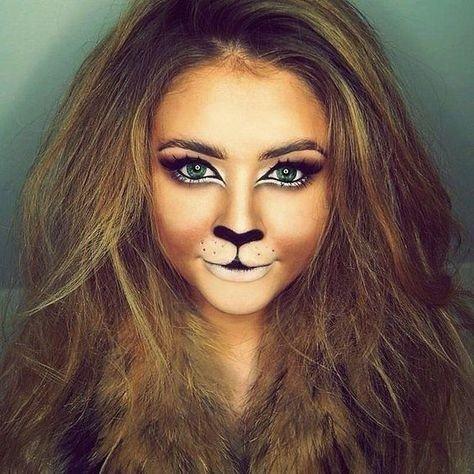 Maquillaje de león 1