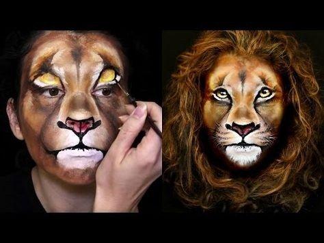 Maquillaje de león 10