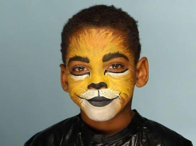 Maquillaje de león 2 1