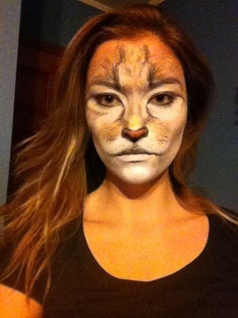 Maquillaje de león 3