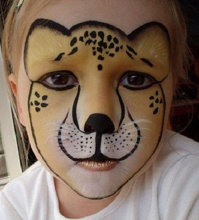 Maquillaje de león 8