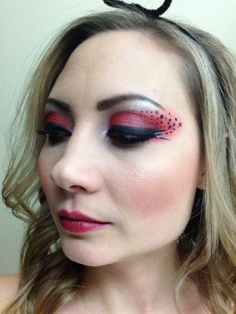 Maquillaje de mariquita 3