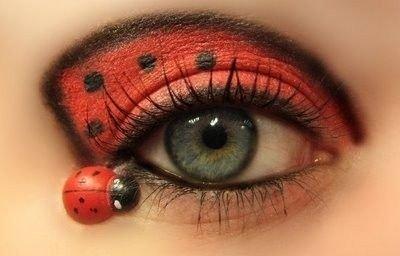 Maquillaje de mariquita 4