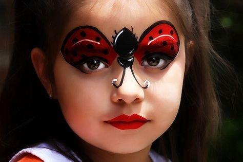 Maquillaje de mariquita 5