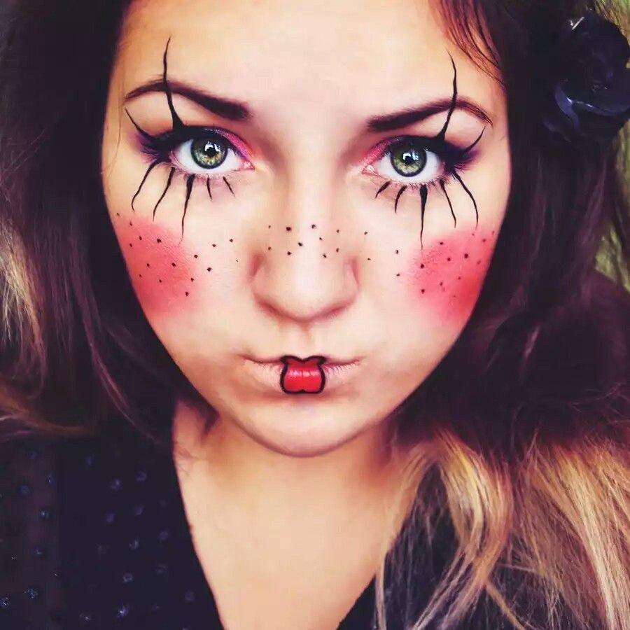 Maquillaje de mariquita 7