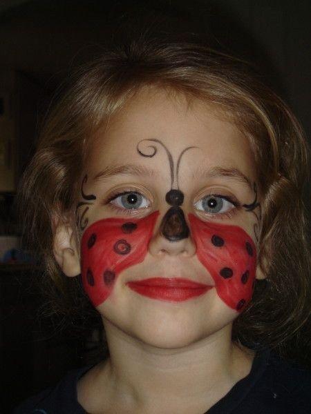 Maquillaje de mariquita 8