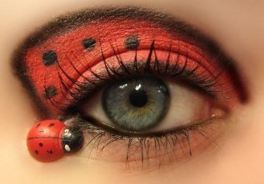 Maquillaje de mariquita 9