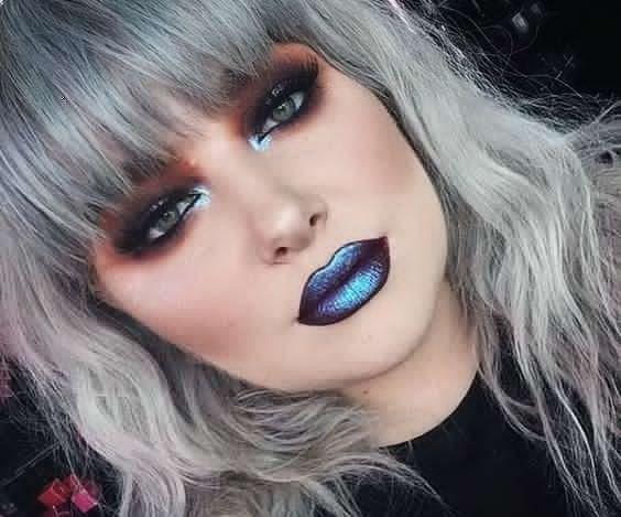 Maquillaje rockero 1