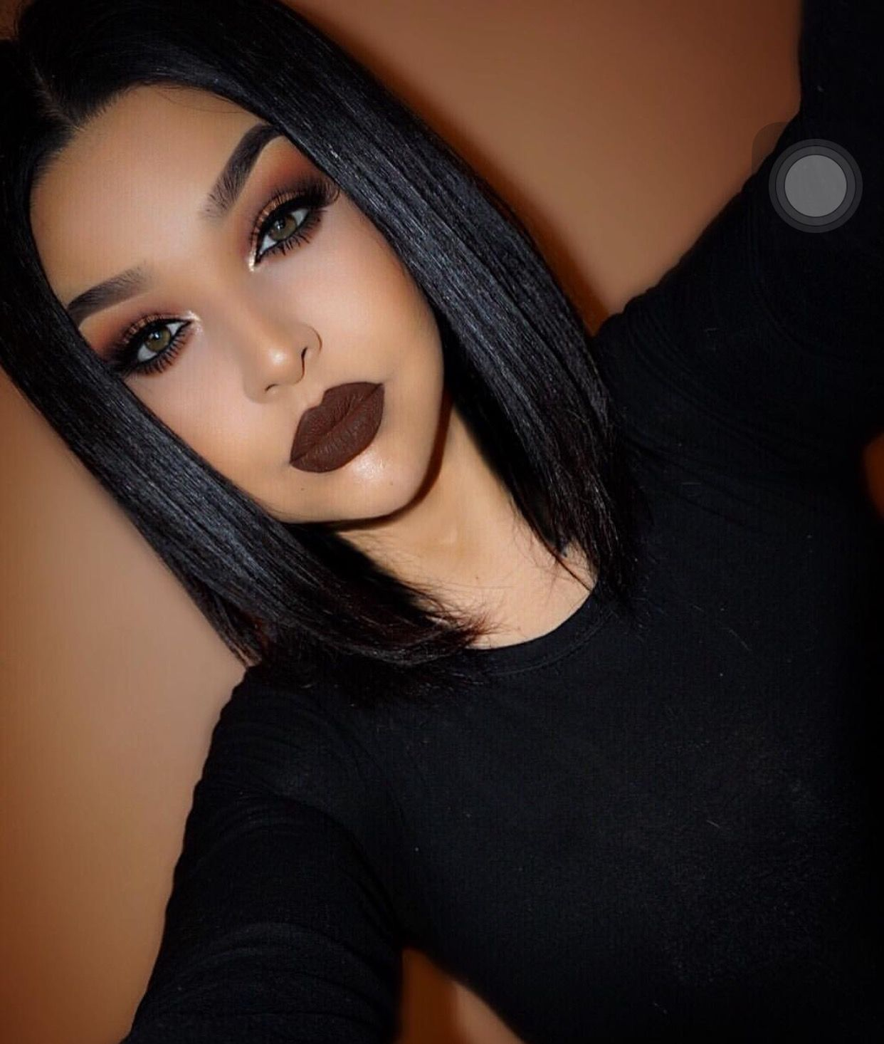 maquillaje gotico 1