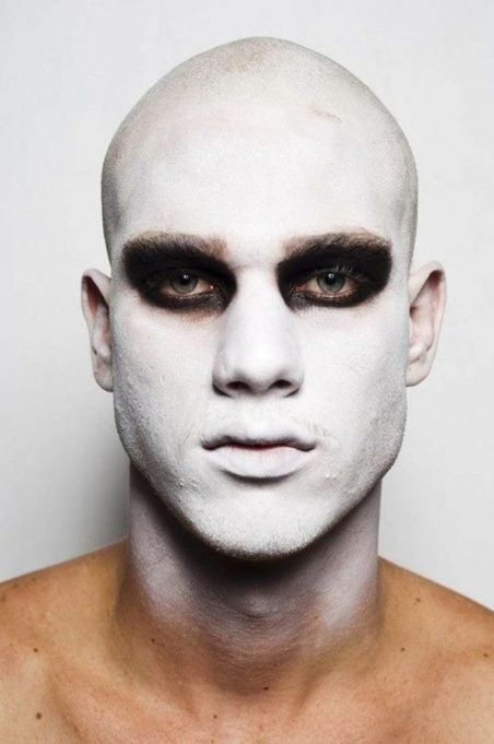 maquillaje gotico 10