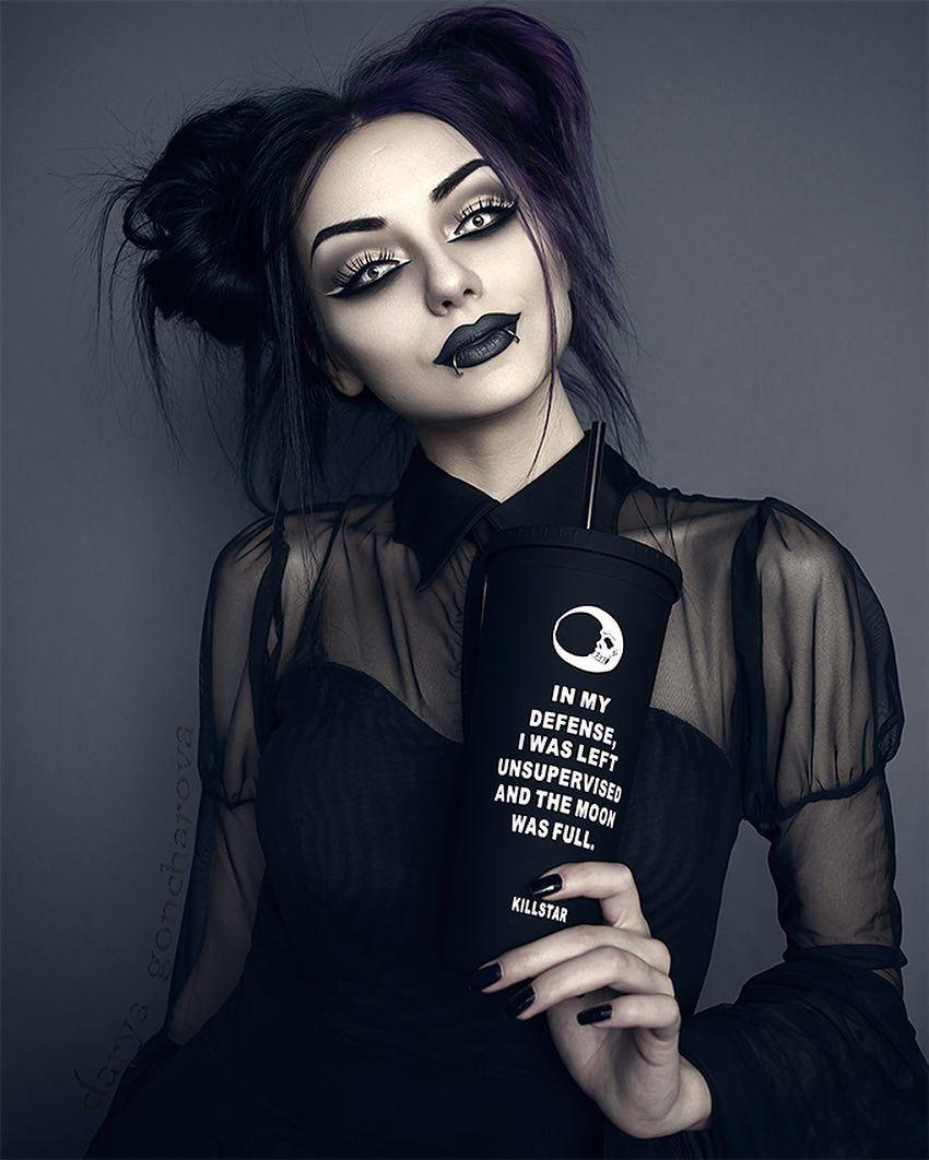 maquillaje gotico 6