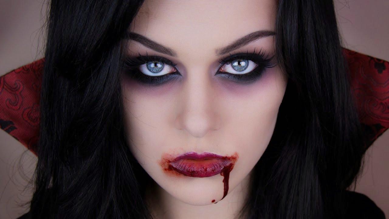 maquillaje gotico 7