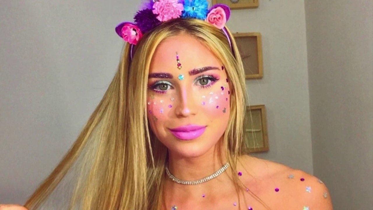 Maquillaje de unicornio 1