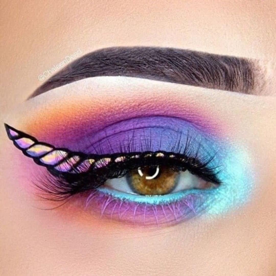 Maquillaje de unicornio 6