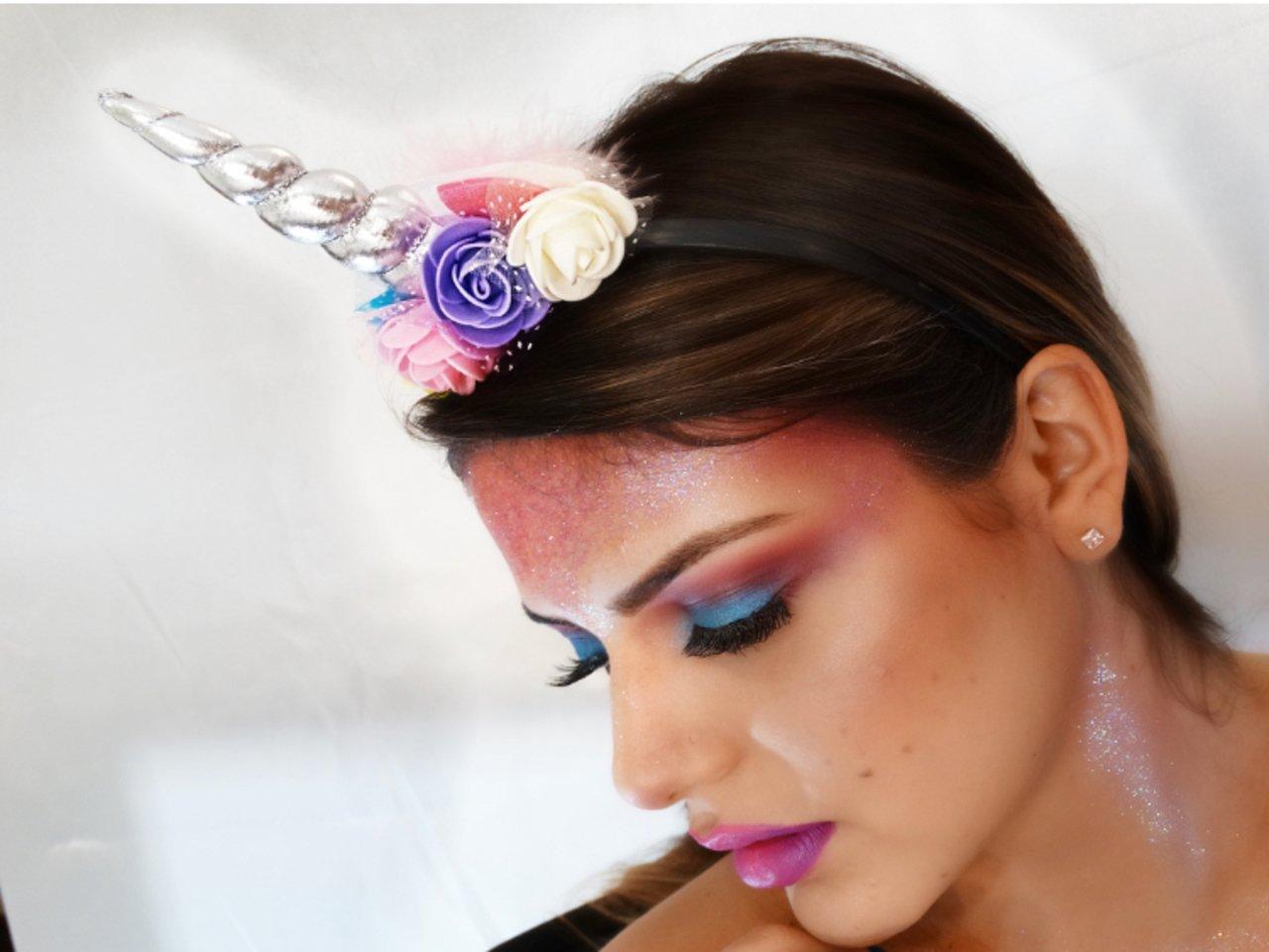 Maquillaje de unicornio 8 1
