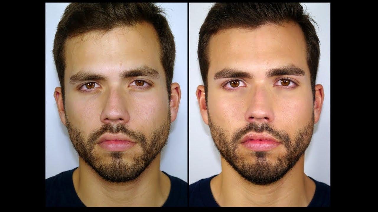 Maquillaje para hombres 3